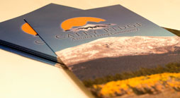 Caley Ridge Trifold Design