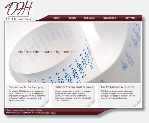 DFH Company Website