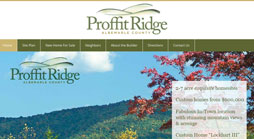 Proffit Ridge Website Design