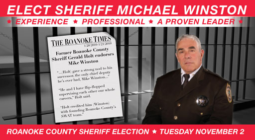 Mike Winston for Sheriff