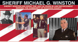 Mike Winston for Sheriff Campaign Design